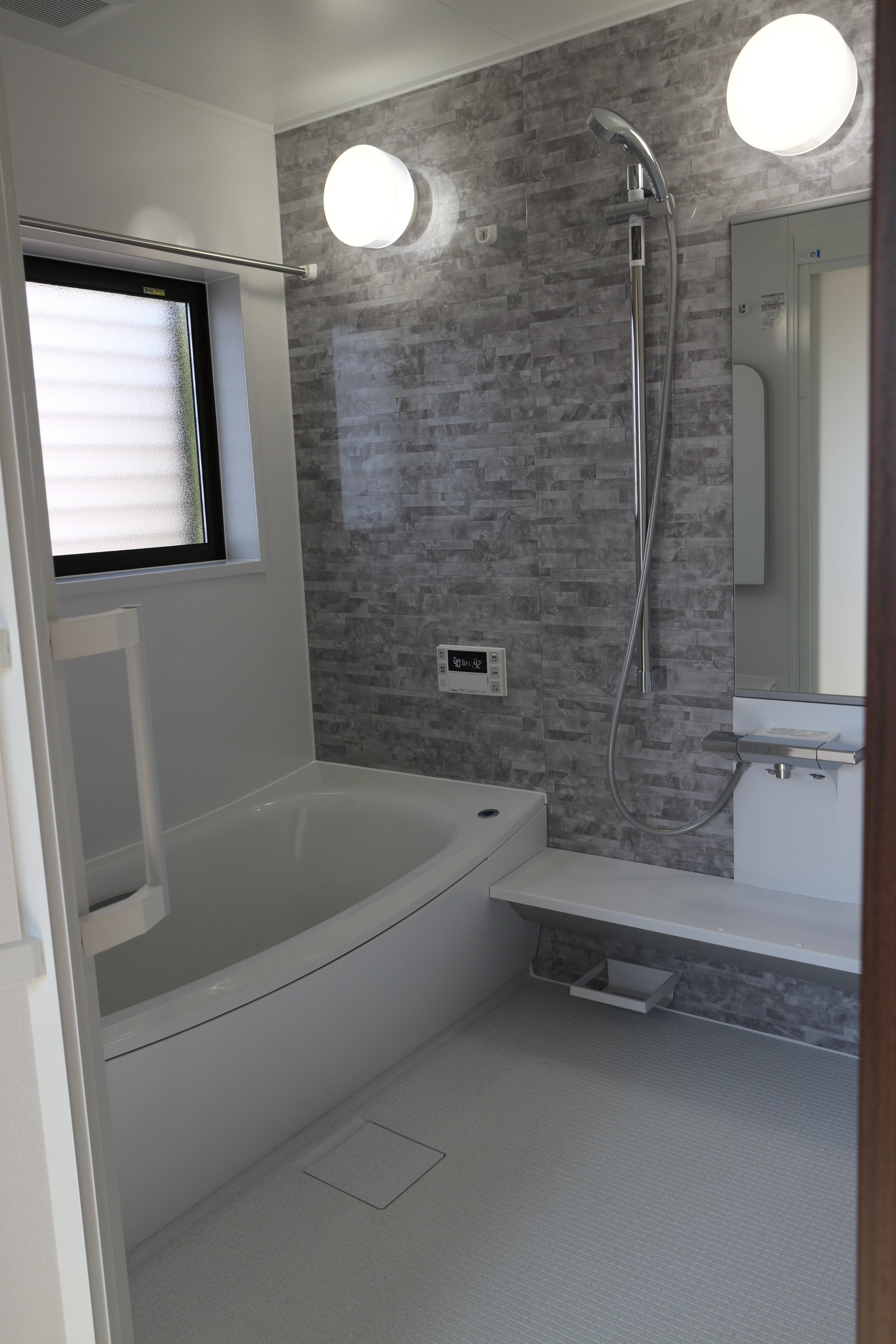 工事後の浴室