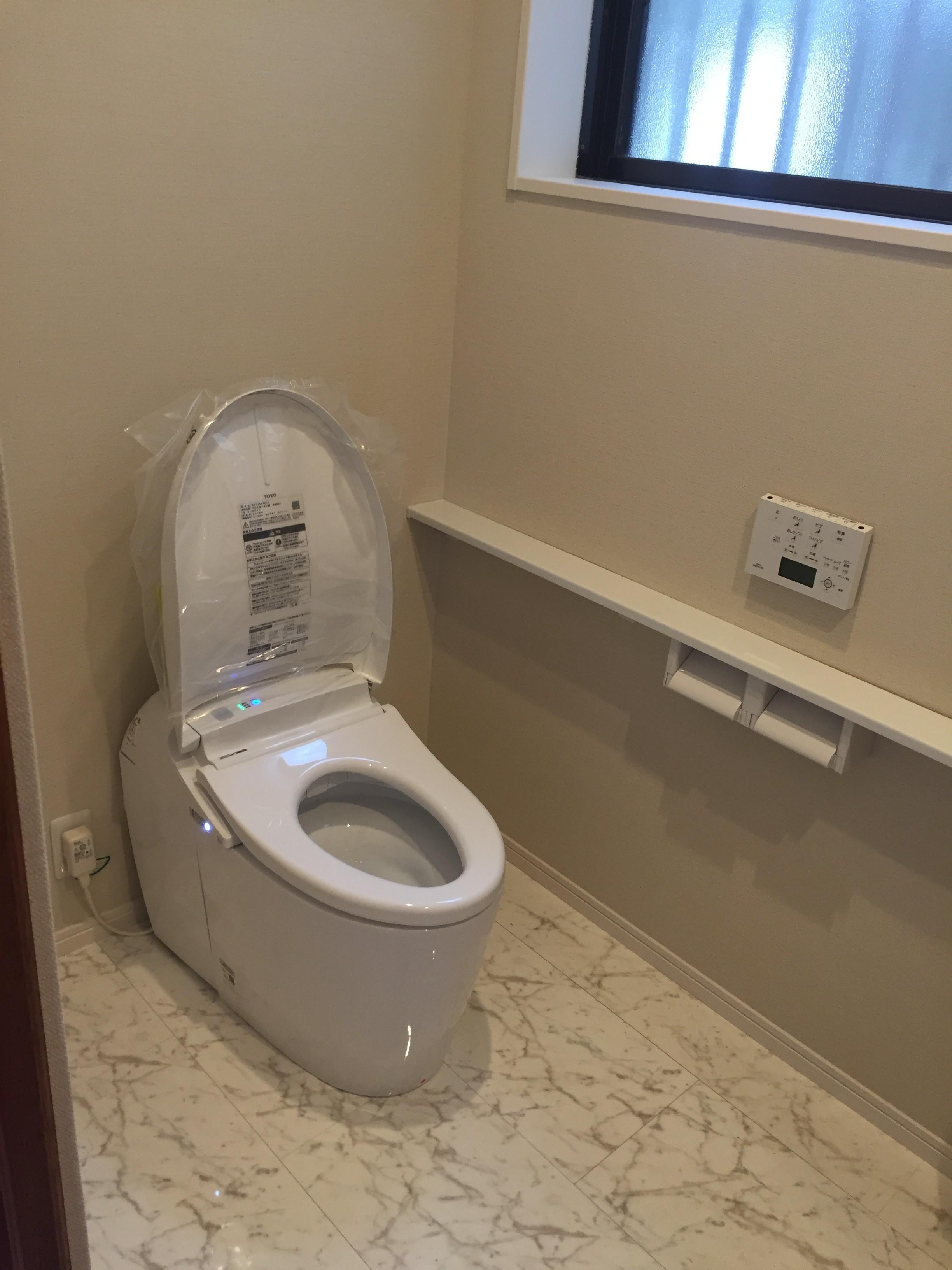 綺麗なトイレになりました。