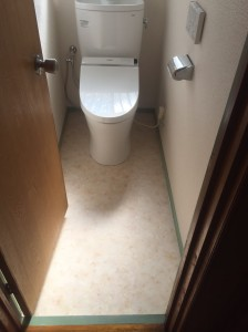 H様邸 トイレ工事