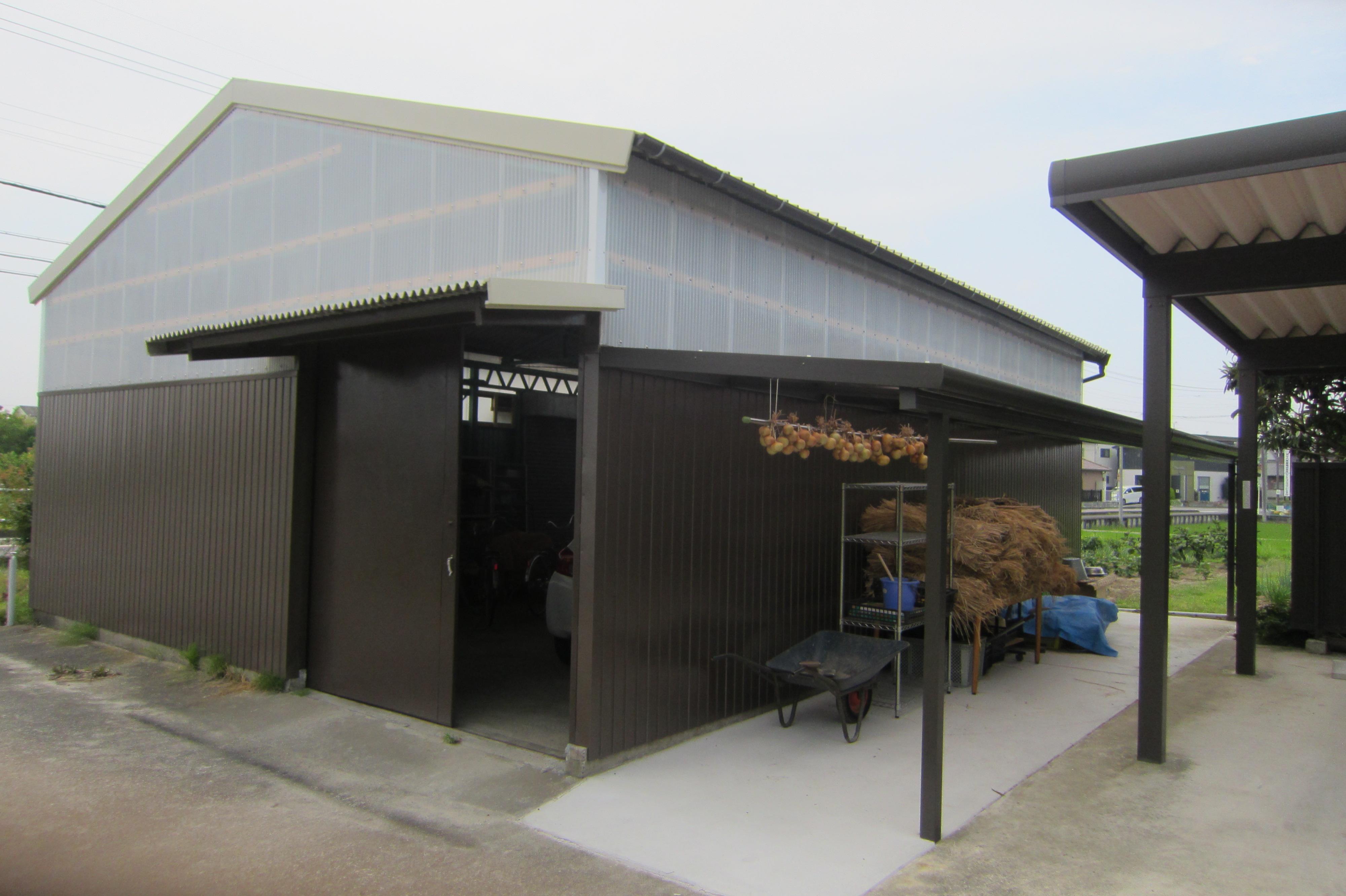 倉庫改修工事
