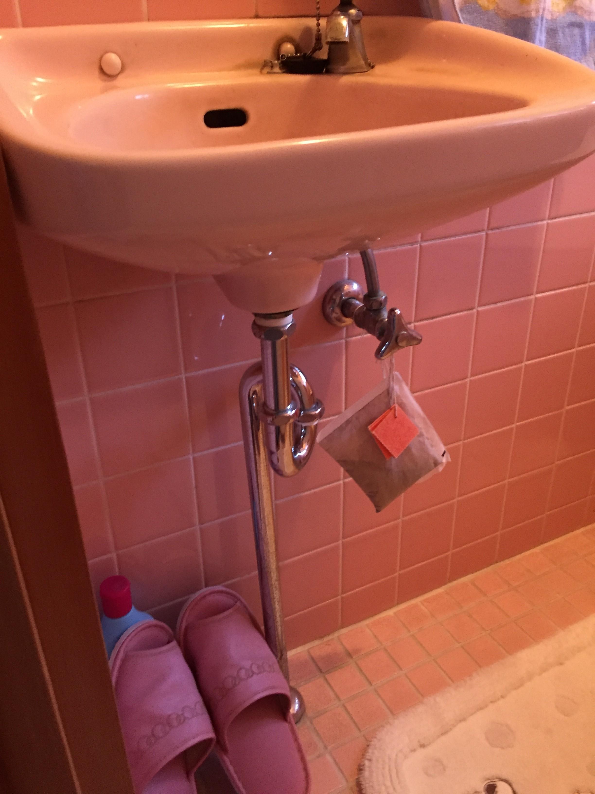 リフォーム前の手洗い