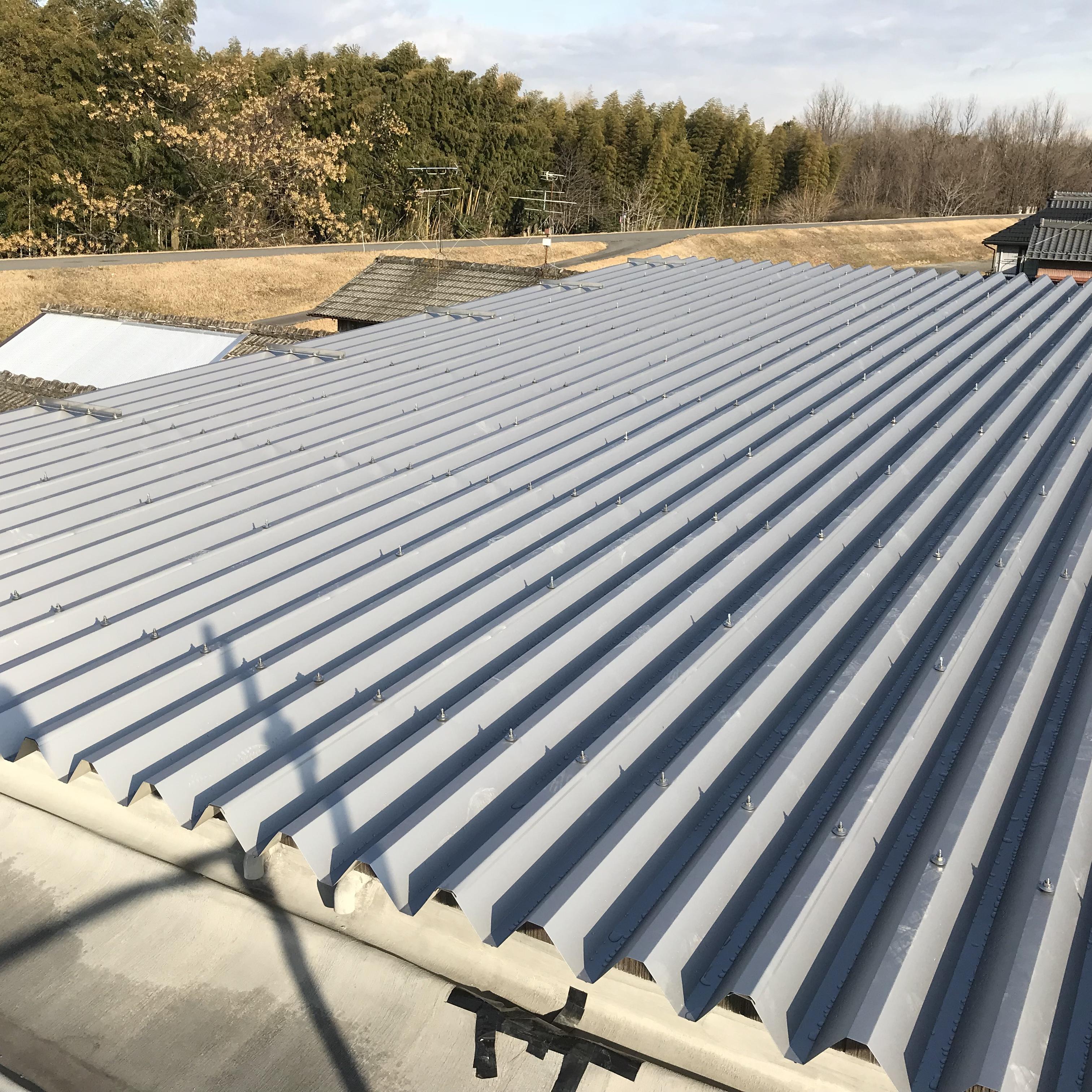 新しい屋根のもとで快適に暮らす
